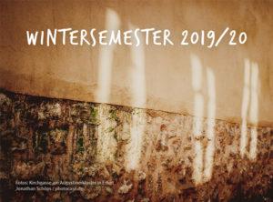 Semesterplan Wintersemester 2019-2020 der ESG Erfurt